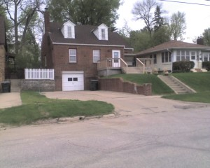 Front of Anderson Home