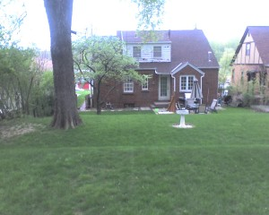 Back of Anderson Home